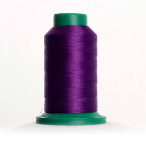 Isacord 5000m/5500yd 40wt solid trilobal polyester thread  number 2900 Deep Purple