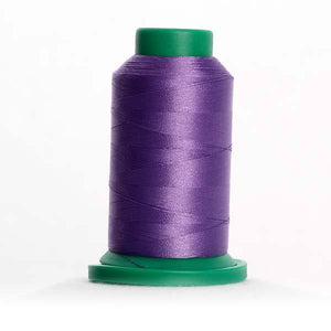 Isacord 5000m/5500yd 40wt solid trilobal polyester thread  number 2920 Purple