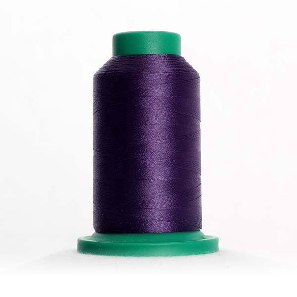 Isacord 1000m/1100yd 40wt solid trilobal polyester thread  number 2953 Concord Fog