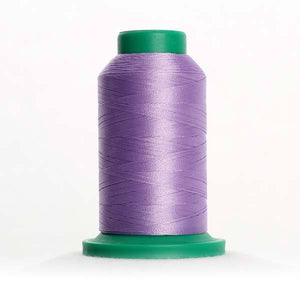 Isacord 1000m/1100yd 40wt solid trilobal polyester thread  number 3030 Amethyst