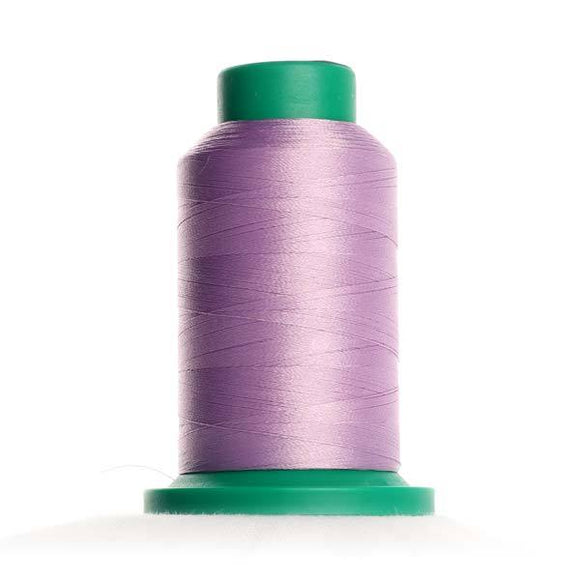 Isacord 5000m/5500yd 40wt solid trilobal polyester thread  number 3040 Lavender