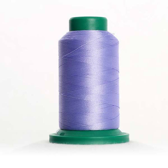 Isacord 1000m/1100yd 40wt solid trilobal polyester thread  number 3151 Blue Dawn