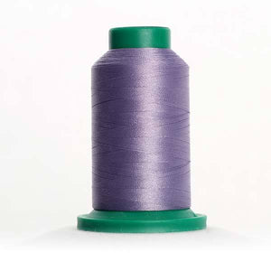 Isacord 5000m/5500yd 40wt solid trilobal polyester thread  number 3241 Amethyst