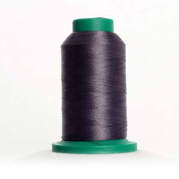 Isacord 1000m/1100yd 40wt solid trilobal polyester thread  number 3265 Slate Gray