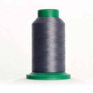 Isacord 1000m/1100yd 40wt solid trilobal polyester thread  number 3274 Battleship Gray