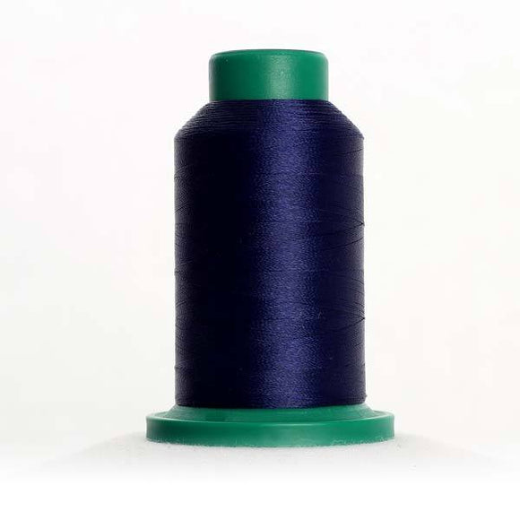 Isacord 5000m/5500yd 40wt solid trilobal polyester thread  number 3323 Delft