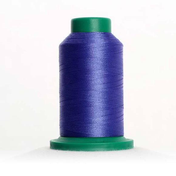 Isacord 5000m/5500yd 40wt solid trilobal polyester thread  number 3332 Forget Me Not
