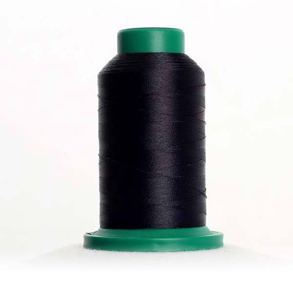 Isacord 5000m/5500yd 40wt solid trilobal polyester thread  number 3344 Midnight
