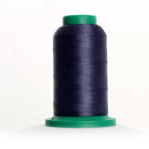Isacord 5000m/5500yd 40wt solid trilobal polyester thread  number 3444 Concord