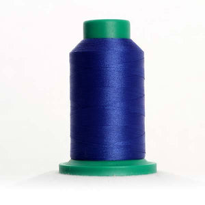Isacord 5000m/5500yd 40wt solid trilobal polyester thread  number 3543 Royal Blue