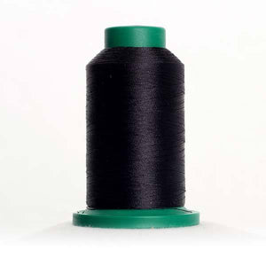Isacord 5000m/5500yd 40wt solid trilobal polyester thread  number 3574 Darkest Blue