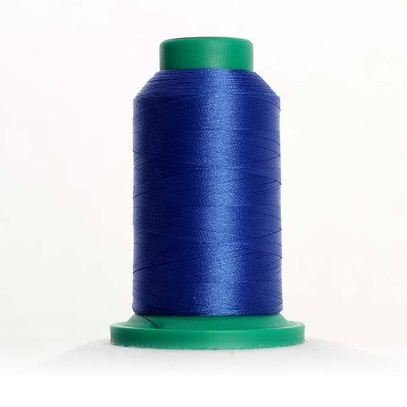 Isacord 5000m/5500yd 40wt solid trilobal polyester thread  number 3611 Blue Ribbon