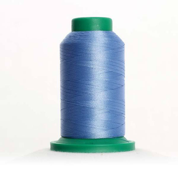 Isacord 5000m/5500yd 40wt solid trilobal polyester thread  number 3641 Wedgewood