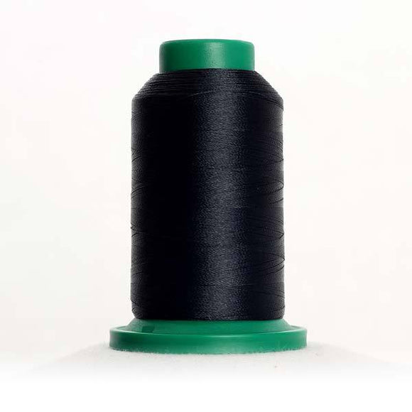 Isacord 1000m/1100yd 40wt solid trilobal polyester thread  number 3666 Space