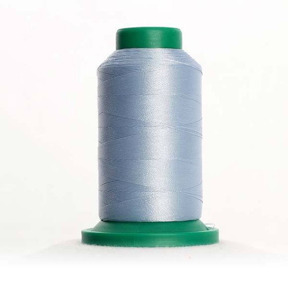 Isacord 5000m/5500yd 40wt solid trilobal polyester thread  number 3750 Winter Frost