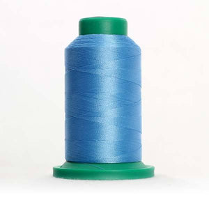 Isacord 5000m/5500yd 40wt solid trilobal polyester thread  number 3820 Celestial