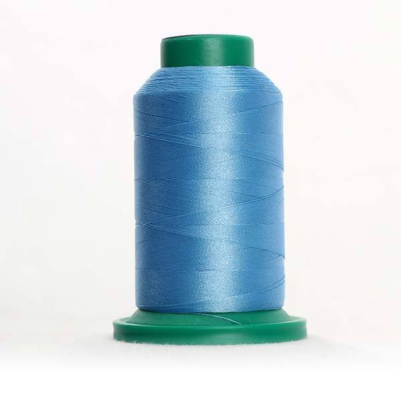 Isacord 5000m/5500yd 40wt solid trilobal polyester thread  number 3830 Surfs Up