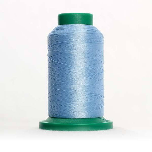 Isacord 5000m/5500yd 40wt solid trilobal polyester thread  number 3840 Oxford