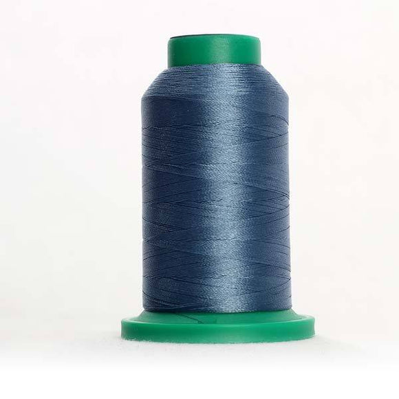Isacord 5000m/5500yd 40wt solid trilobal polyester thread  number 3842 Copenhagen