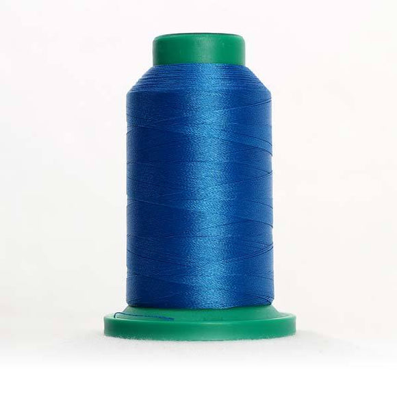 Isacord 5000m/5500yd 40wt solid trilobal polyester thread  number 3902 Colonial Blue