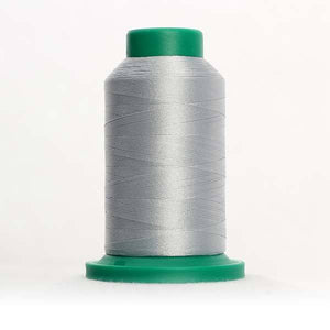 Isacord 5000m/5500yd 40wt solid trilobal polyester thread  number 3971 Silver