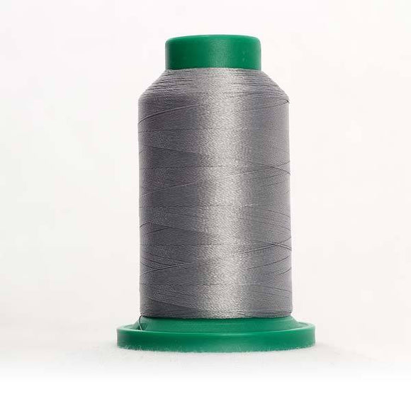 Isacord 5000m/5500yd 40wt solid trilobal polyester thread  number 4073 Metal