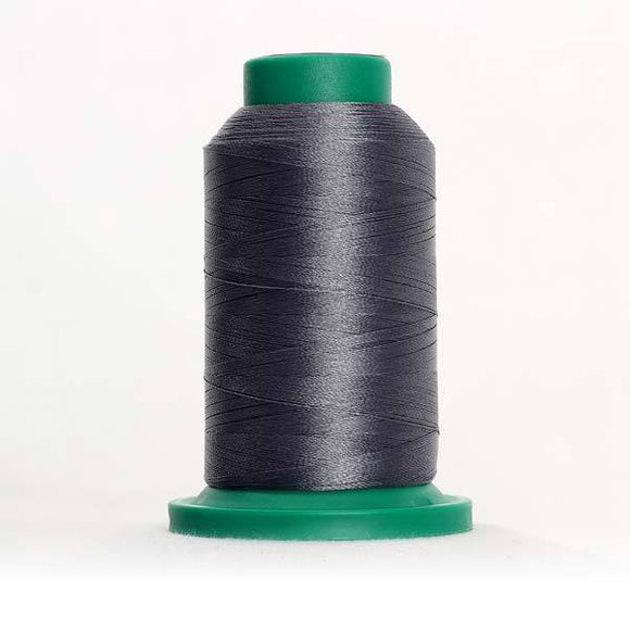 Isacord 5000m/5500yd 40wt solid trilobal polyester thread  number 4074 Dimgray