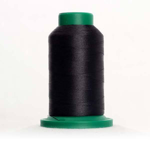 Isacord 5000m/5500yd 40wt solid trilobal polyester thread  number 4174 Charcoal