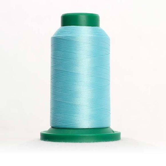 Isacord 5000m/5500yd 40wt solid trilobal polyester thread  number 4240 Spearmint