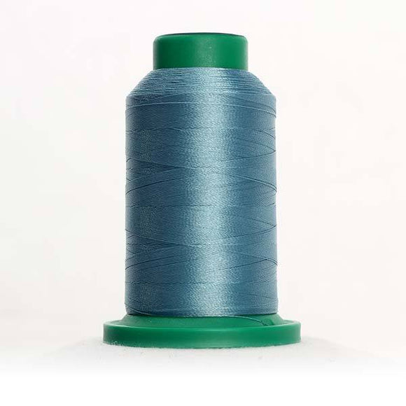 Isacord 1000m/1100yd 40wt solid trilobal polyester thread  number 4332 Rough Sea