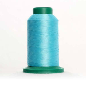 Isacord 5000m/5500yd 40wt solid trilobal polyester thread  number 4430 Island Waters