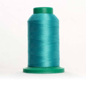 Isacord 5000m/5500yd 40wt solid trilobal polyester thread  number 4620 Jade
