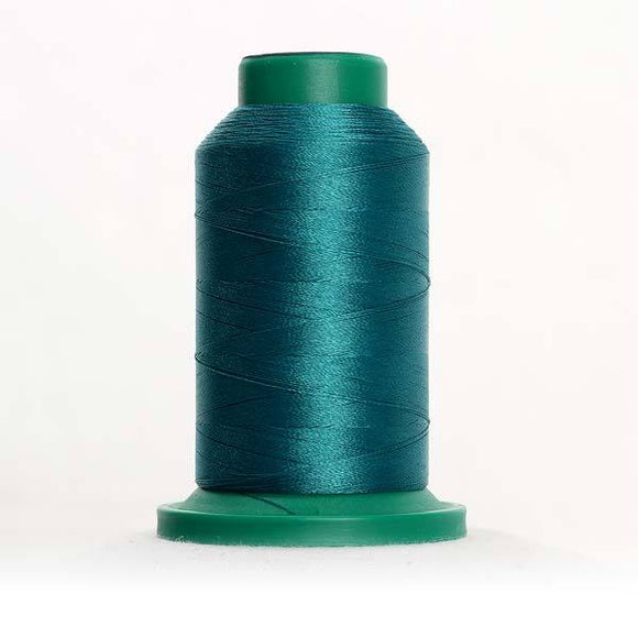 Isacord 5000m/5500yd 40wt solid trilobal polyester thread  number 4625 Seagreen