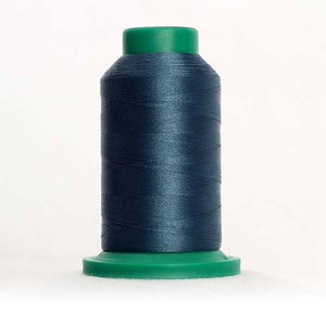 Isacord 5000m/5500yd 40wt solid trilobal polyester thread  number 4644 Mallard