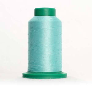Isacord 5000m/5500yd 40wt solid trilobal polyester thread  number 4952 Mystic Ocean