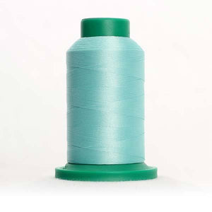 Isacord 5000m/5500yd 40wt solid trilobal polyester thread  number 5050 Luster