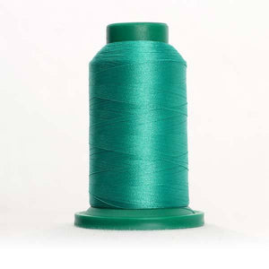 Isacord 5000m/5500yd 40wt solid trilobal polyester thread  number 5210 Trellis Green