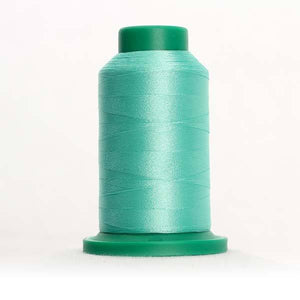 Isacord 5000m/5500yd 40wt solid trilobal polyester thread  number 5220 Silver Sage