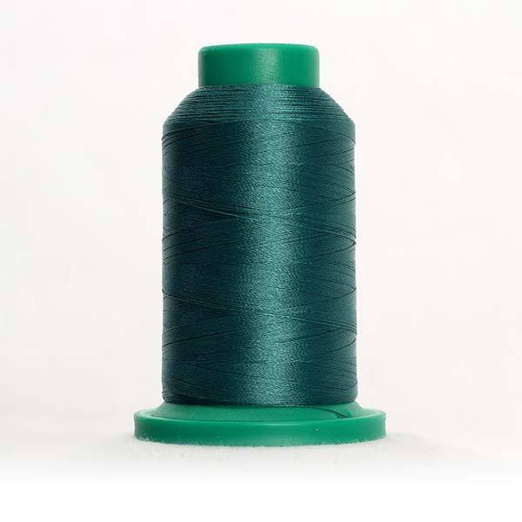 Isacord 5000m/5500yd 40wt solid trilobal polyester thread  number 5233 Field Green