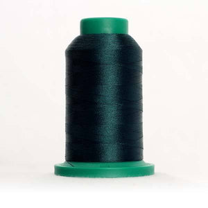 Isacord 5000m/5500yd 40wt solid trilobal polyester thread  number 5335 Swamp