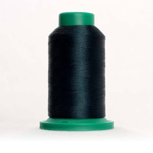 Isacord 5000m/5500yd 40wt solid trilobal polyester thread  number 5374 Forest Green