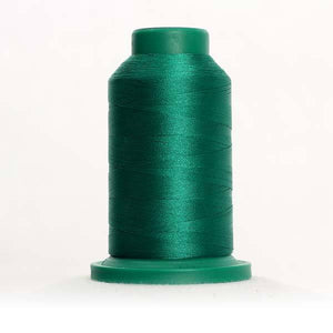 Isacord 5000m/5500yd 40wt solid trilobal polyester thread  number 5422 Swiss