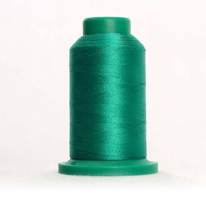 Isacord 5000m/5500yd 40wt solid trilobal polyester thread  number 5515 Kelly
