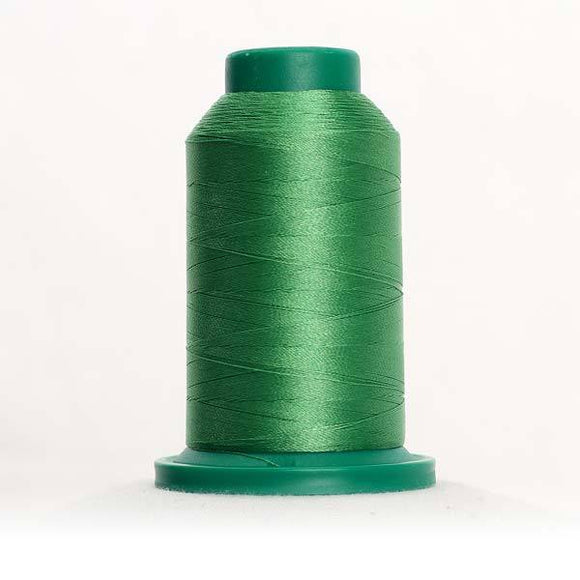 Isacord 5000m/5500yd 40wt solid trilobal polyester thread  number 5531 Pear