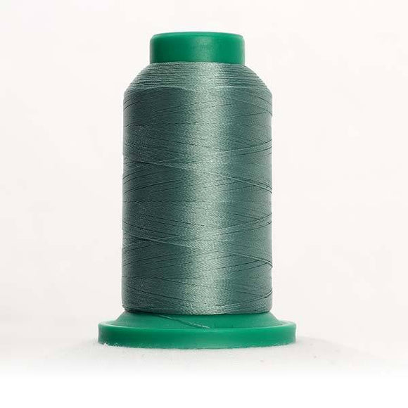 Isacord 1000m/1100yd 40wt solid trilobal polyester thread  number 5542 Garden Moss