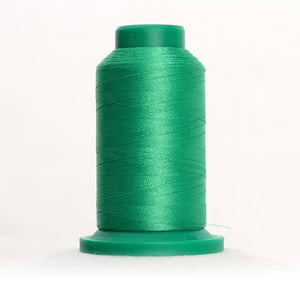 Isacord 5000m/5500yd 40wt solid trilobal polyester thread  number 5613 Light Kelly