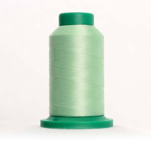 Isacord 5000m/5500yd 40wt solid trilobal polyester thread  number 5650 Spring Frost