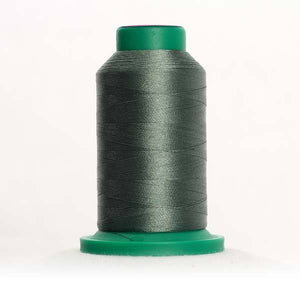 Isacord 5000m/5500yd 40wt solid trilobal polyester thread  number 5664 Willow