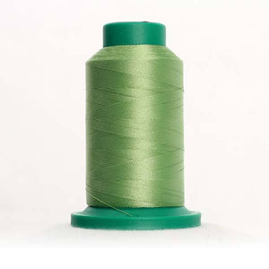 Isacord 5000m/5500yd 40wt solid trilobal polyester thread  number 5822 Kiwi
