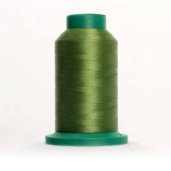 Isacord 5000m/5500yd 40wt solid trilobal polyester thread  number 5833 Limabean